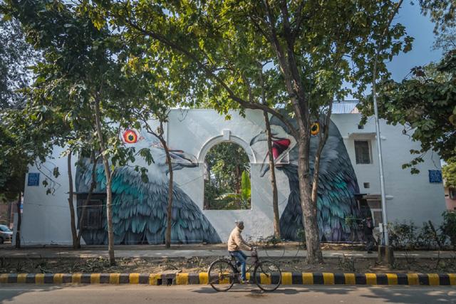Адель Рено в Дели