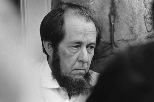 Александр Солженицын в 1970 году, фото: © Jacques Haillot / Sygma / Corbis.