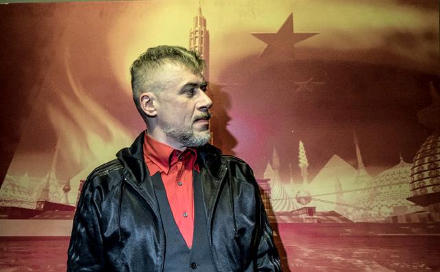 Художник Алексей Беляев-Гинтовт, фото: Владимир Яроцкий / Москва 24