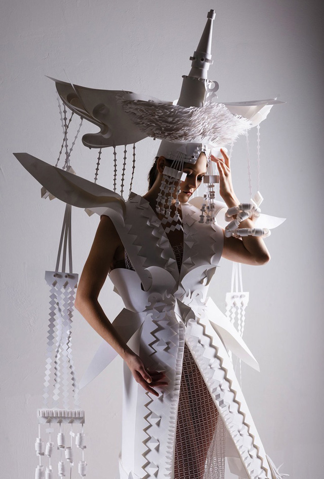 свадебное платье Аси Козиной (Россия)