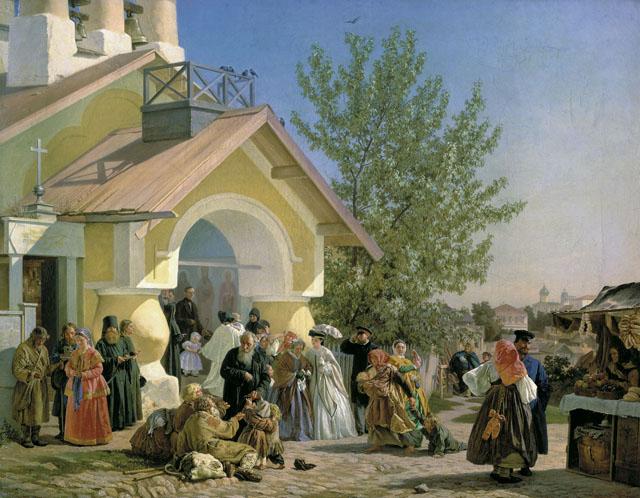 Картина Александра Ивановича Морозова, ГТГ