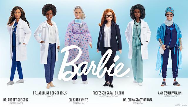 Барби - герои борьбы с пандемией-01