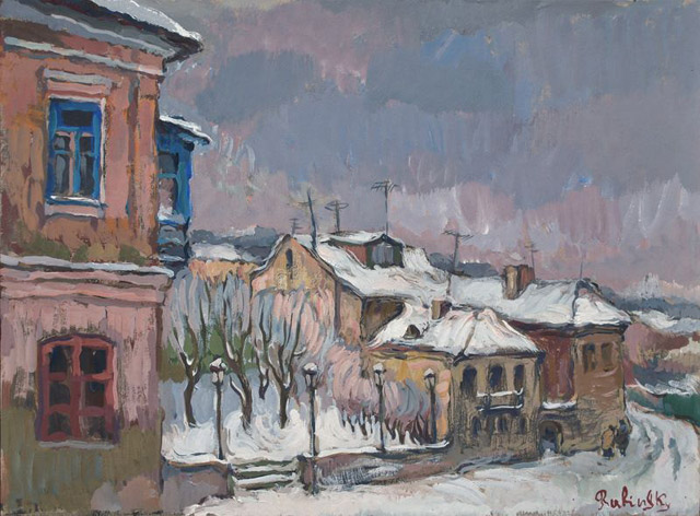Живопись Бориса Рыбинского (Украина)