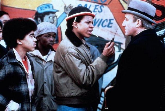 "кадр из фильма реж. Хэл Эшби ""Будучи там"" (1979)"