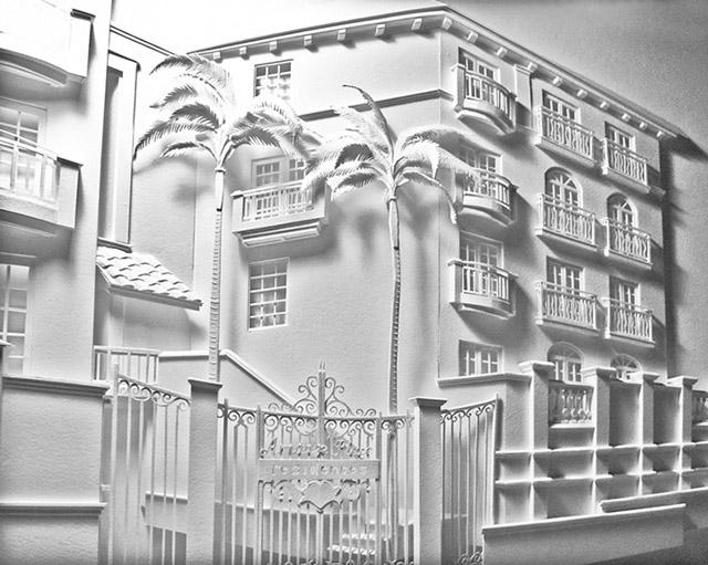 Архитектура из бумаги.