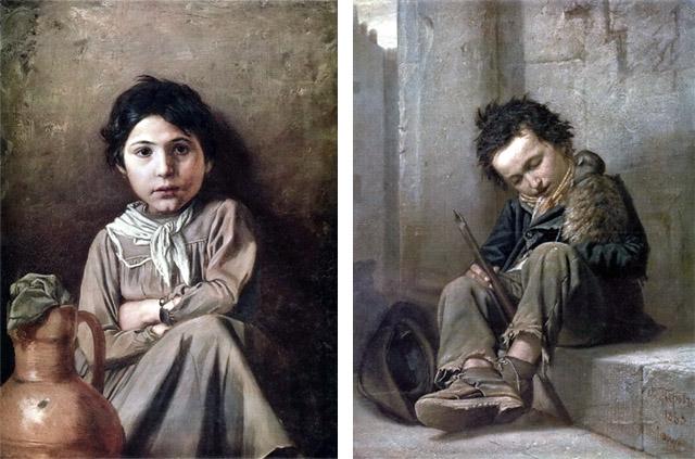 Василий Перов_Портреты детей