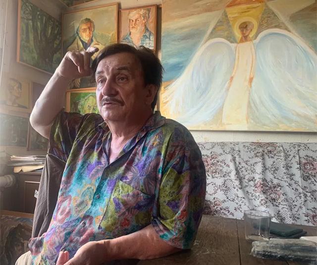Виктор Тихомиров, фото: Татьяна Брицкая / «Новая газета»