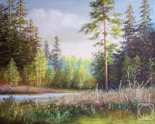 Пейзаж Владимира Иванова (Оренбург)