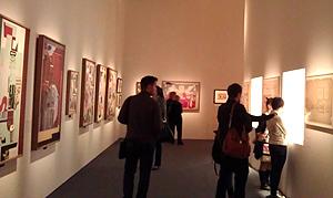 Выставка Корбюзье в залах на Волхонке