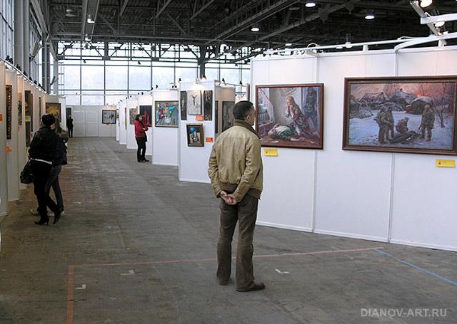 Выставка. Фото: В. Дианова