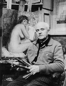В. Гремитских в мастерской (1979)