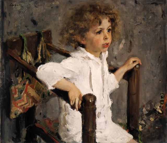 портрет работы Валентина Серова