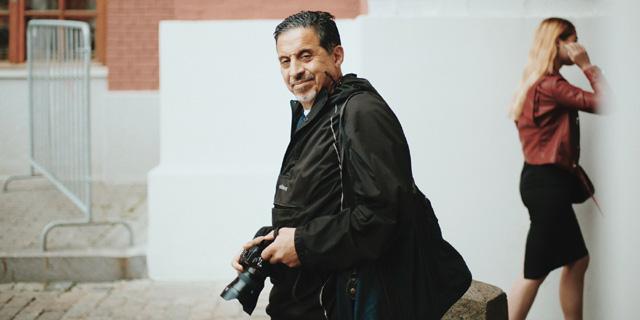 Фотограф Георгий Пинхасов, фото: zimamagazine.com (2020)