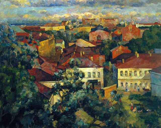 Герман Федоров. Москва. Лето (1924 г.)