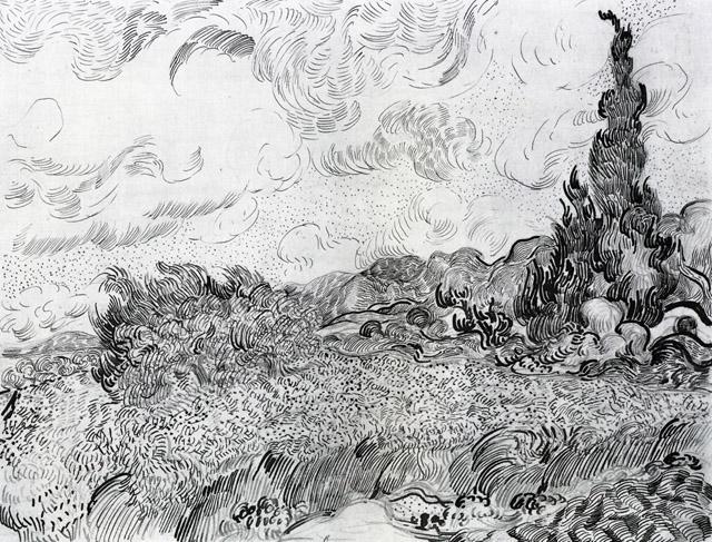 Графика Ван Гога - 014
