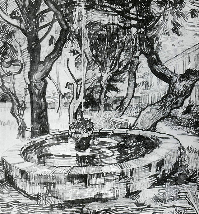 Графика Ван Гога - 016