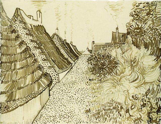 Графика Ван Гога - 023