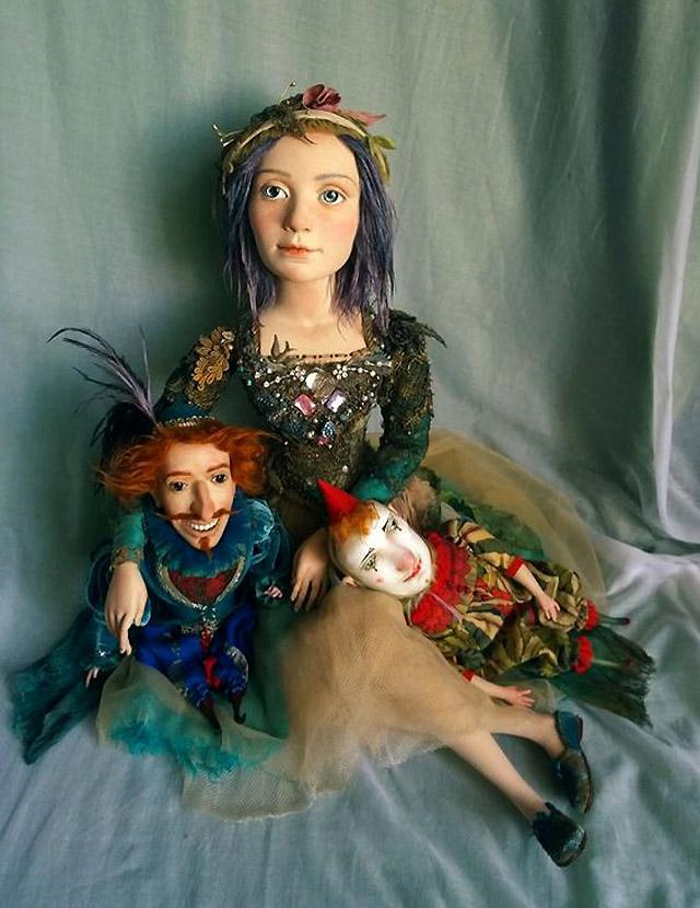 куклы Гули Алексеевой (Санкт-Петербург)