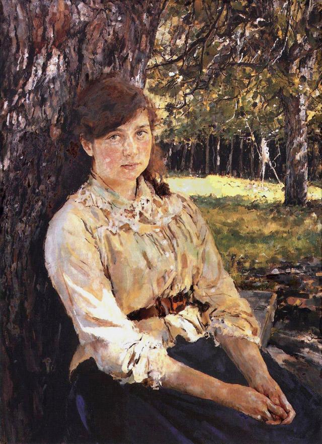 Девушка, освещенная солнцем (1889)