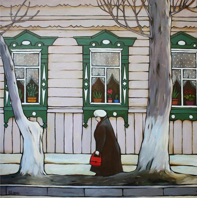 Картина Дины Калинкиной (Россия)