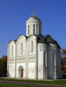 Дмитриевский собор в городе Владимир