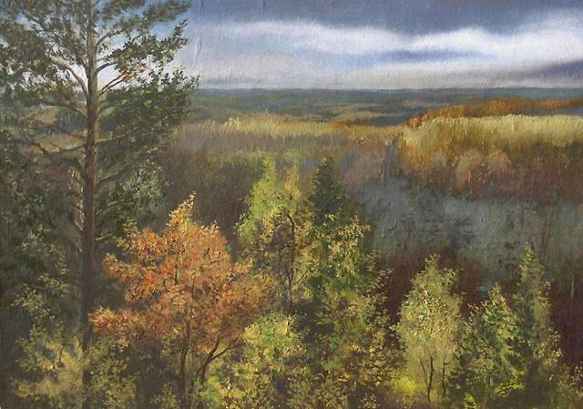 купить пейзаж русского художника