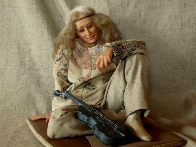 Авторская кукла Елены Куниной