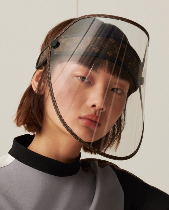 Защитная маска от Луи Виттон-01