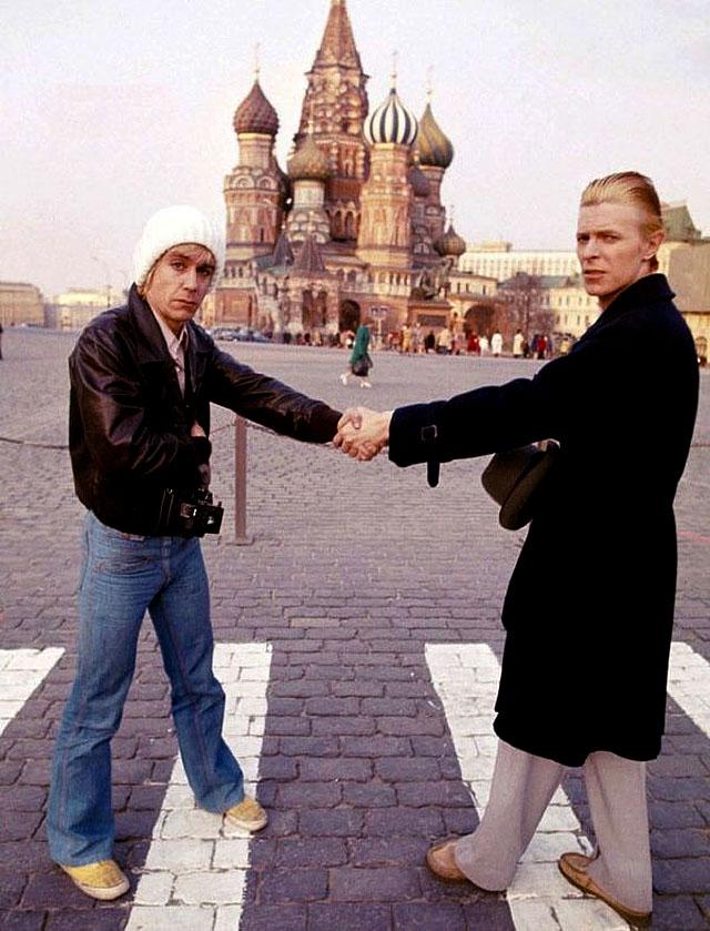Картинки по запросу Дэвид Боуи и Игги Поп в Москве, 1976 год