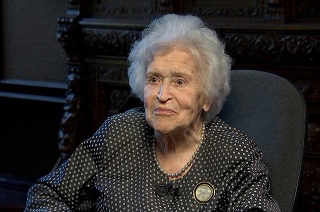 Ирина Антонова, кадр из фильма © АО ТВ Центр