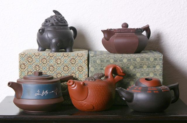 Исинские чайники, Фото: Joekoz451