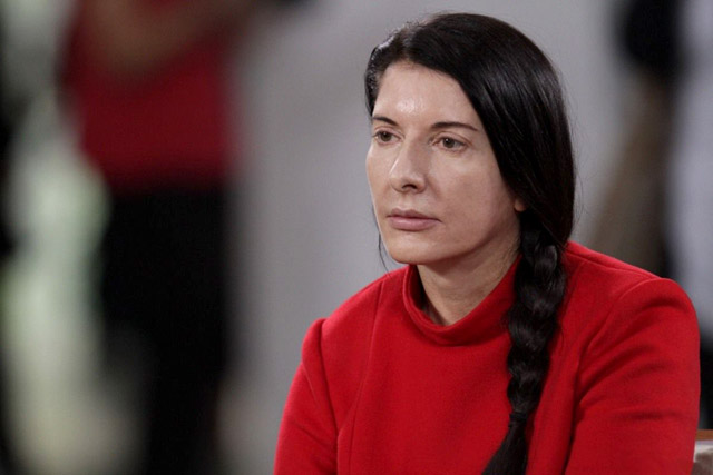"Кадр из фильма ""Marina Abramovic: The Artist Is Present"""