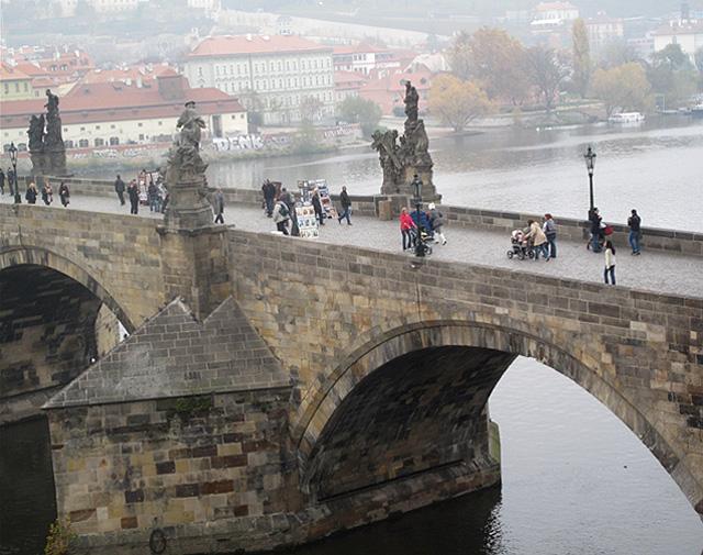 Карлов мост в Праге, фото - Dezidor