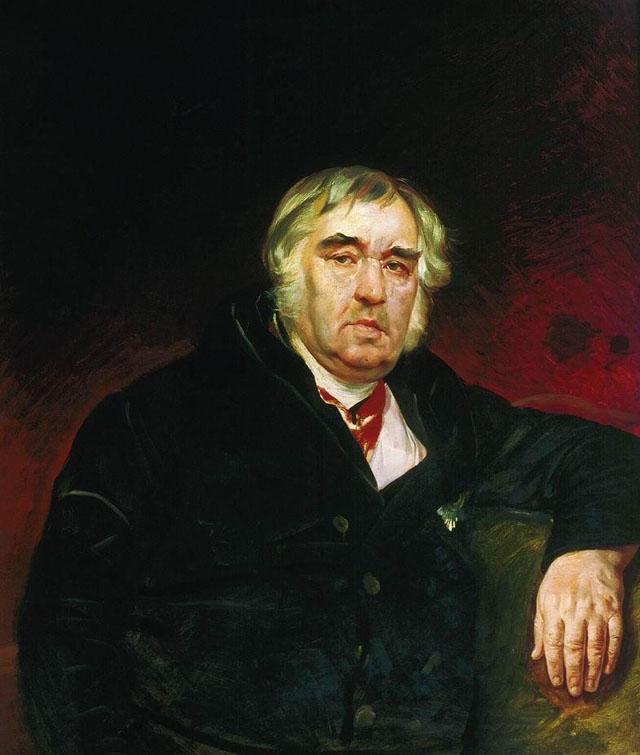 Карл Павлович Брюллов Портрет баснописца И. А. Крылова. 1839