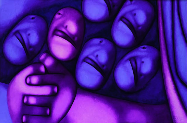 Картина художника Олега Целкова / фото: © k35artgallery.com