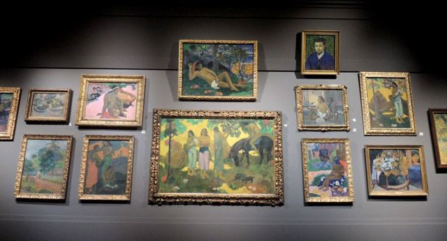 Картины Гогена в стенах ГМИИ им Пушкина, фото - Софья Багдасарова