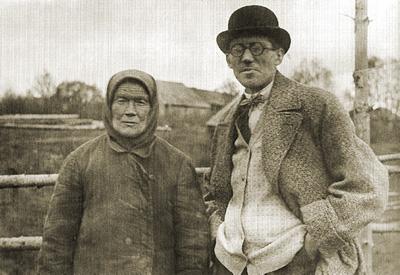 Колхозница  и Корбюзье (1928)