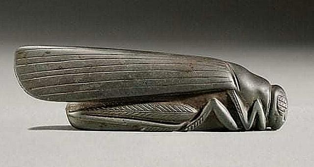 Кузнечик из древнего Вавилона 1800-1700 гг до нашей эры, фото - Getty Images