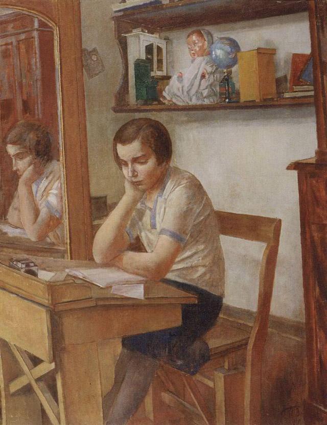 Картина Кузьмы Сергеевича Петрова-Водкина