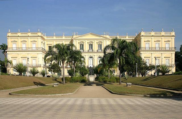 Национальный музей Бразилии в Рио-де-Жанейро до пожара. Фото: Museu Nacional-UFRJ