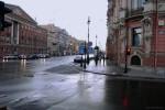 Невский проспект утром-01, фото: В. Дианов (2005)
