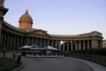 Невский проспект утром-02, фото: В. Дианов, 2005г.