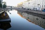 Невский проспект утром-04, фото: В. Дианов, 2005г.