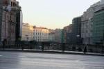 Невский проспект утром-05, фото: В. Дианов, 2005г.