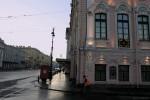 Невский проспект утром-06, фото: В. Дианов, 2005г.