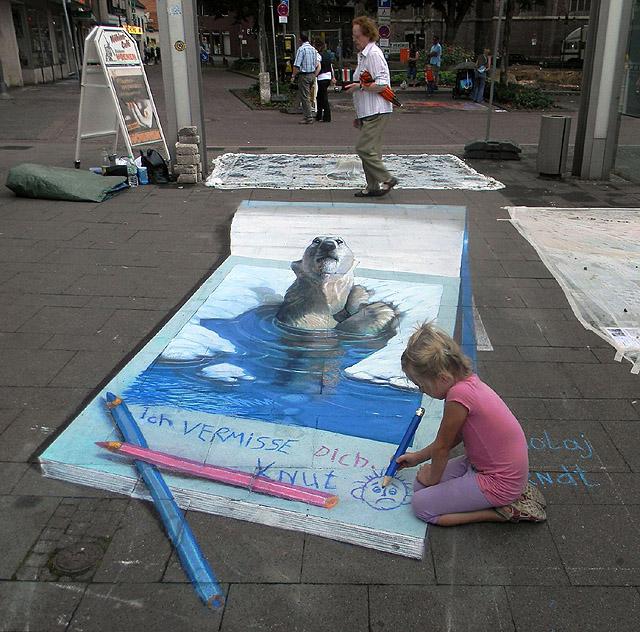 3D  street-art