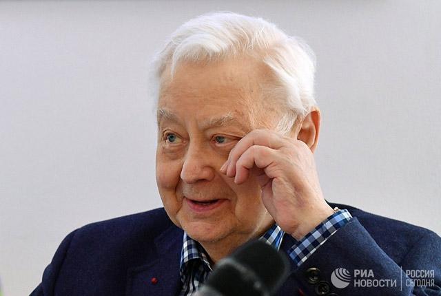 Олег Табаков, фото © РИА Новости © Владимир Песня