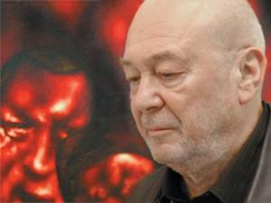 художник Олег Целков, фото РИА Новости