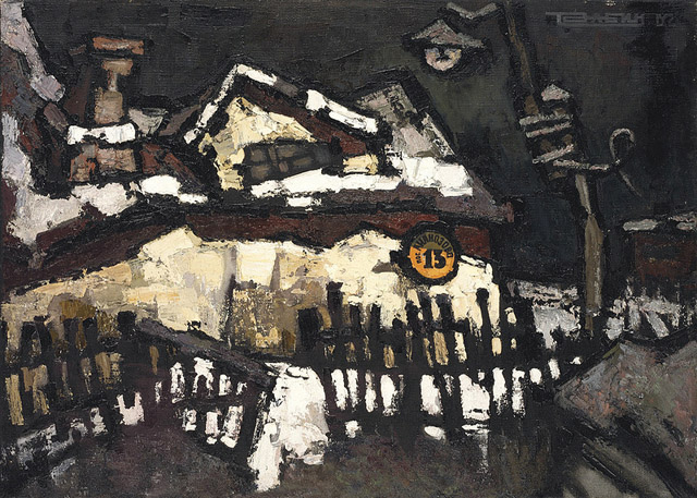 Живопись Оскара Рабина