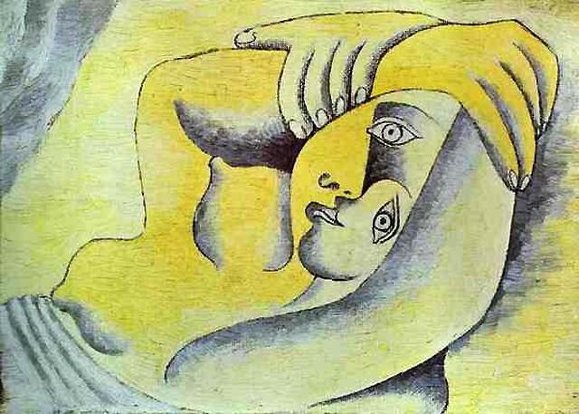 Пабло Пикассо, Обнажённая на пляже (1929)